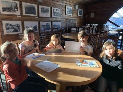 Воспитанники знакомятся с историей и культурой народов Камчатки.