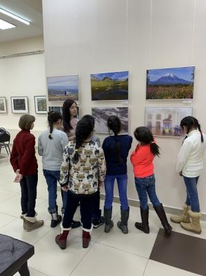 Воспитанники посещают Краевой художественный музей