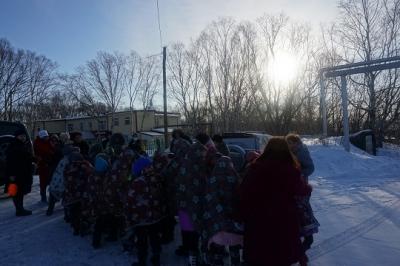 В КГОБУ «Камчатская санаторная школа-интернат» прошла тренировка