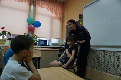 К воспитанникам приезжали сотрудники отдела ГИБДД по Елизовскому району