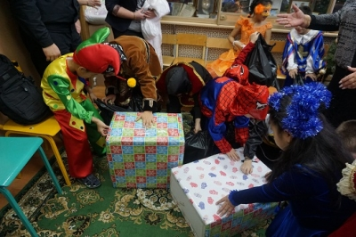 Cостоялось новогоднее представление для воспитанников,