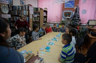 Воспитанники посетили библиотеку п.Вулканный
