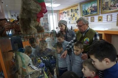 Воспитанники посетили Просветительный центр «Страна рыбы и рыбоедов»